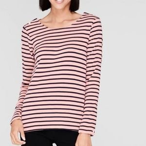 Scotch and Soda Striped Boatneck Top NWOT